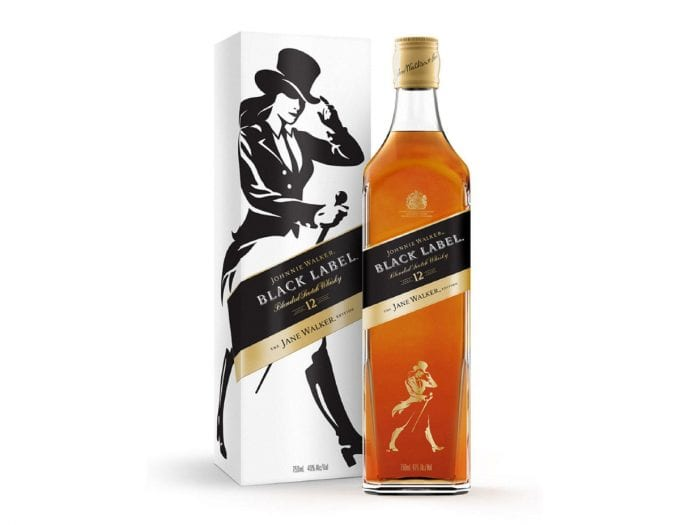 Step aside Johnnie: Jane Walker launches her own edition of Black Label whisky