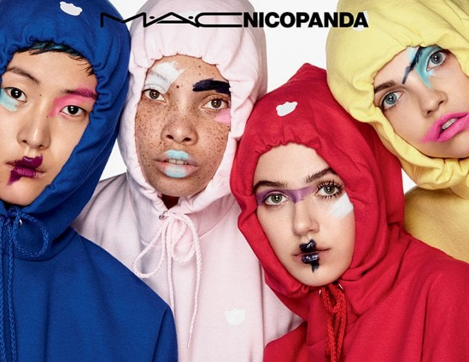 MAC collaborates with streetwear brand Nicopanda for edgy-cute collection