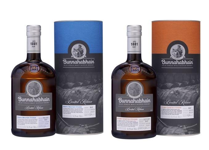 Bunnahabhain releases two new limited edition Islay malt whiskies