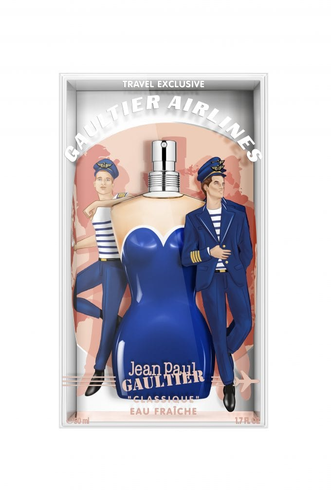 Fly Gaultier Airlines! Jean-Paul Gaultier travel exclusives arrive at World Duty Free