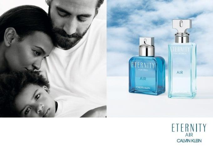 Calvin Klein releases ETERNITY AIR duo in duty-free