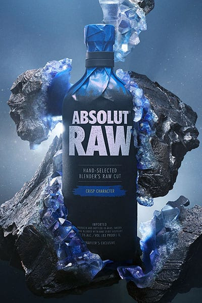 ABSOLUT RAW – a traveller's exclusive arrives in duty-free direct from Åhus