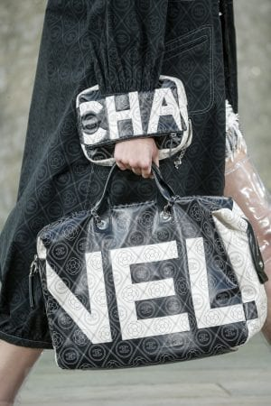 Chanel bags up its logo for new coated canvas collection