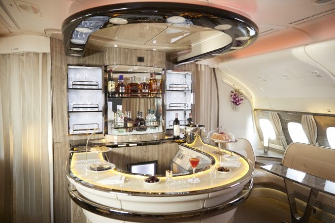 Emirates treats its flyers to drams of The Dalmore and Jura single malts