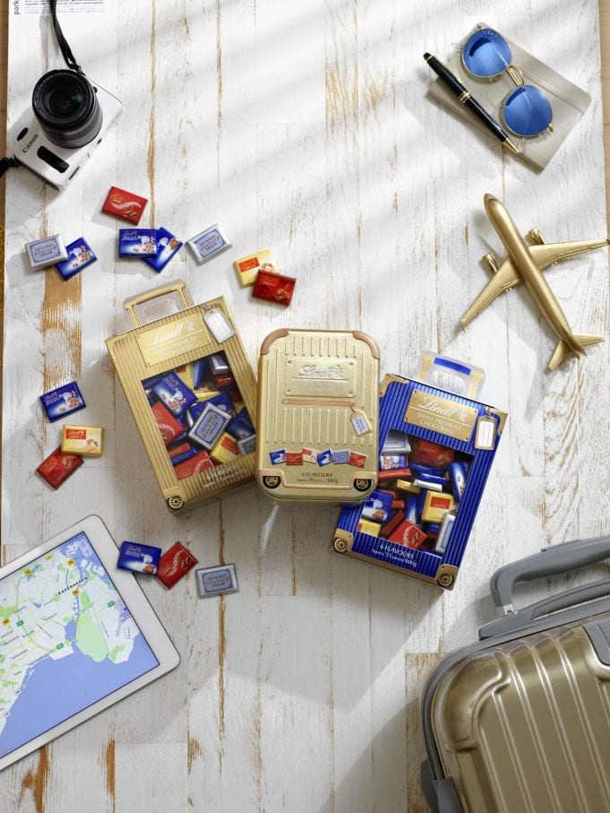Lindt and Dubai Duty Free team up to pre-launch the LINDT Travel Souvenir Collection