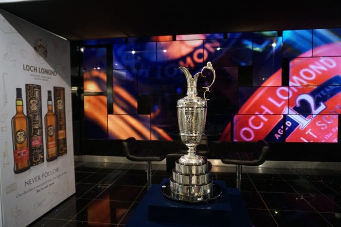 Lift the Claret Jug & win tickets to The Open with World Duty Free & Loch Lomond whiskies