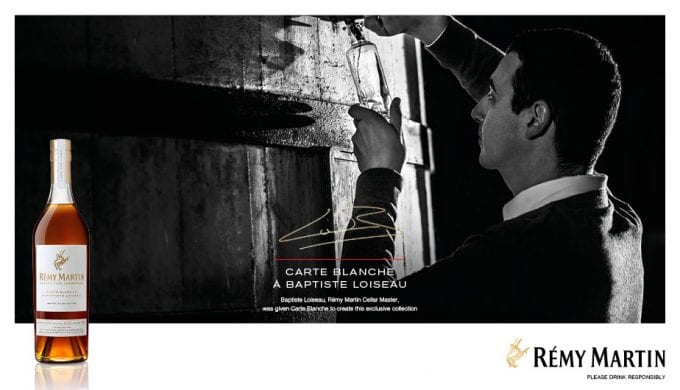 A new treasure: Rémy Martin releases limited edition Carte Blanche Merpins Cellar Edition with DFS