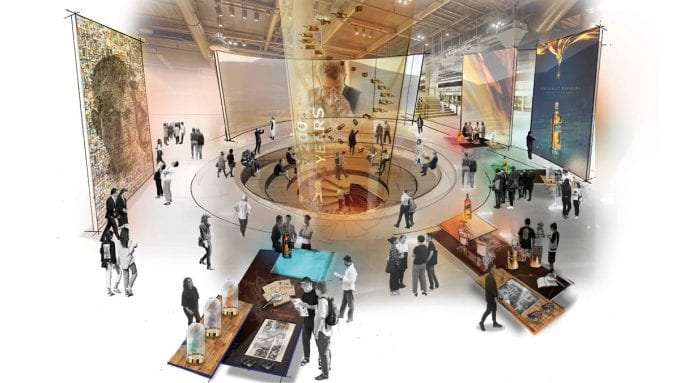 Johnnie Walker to open global brand attraction in Edinburgh to boost whisky tourism