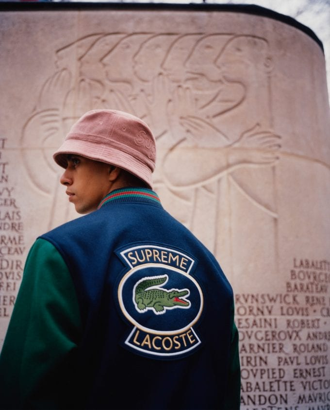 LACOSTE and Supreme collaborate again for Spring 2018