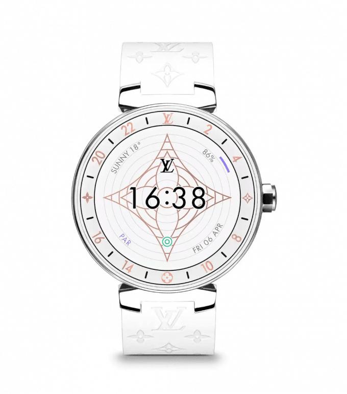 Worth Flying For… Louis Vuitton's new Tambour Horizon Monogram White smartwatch