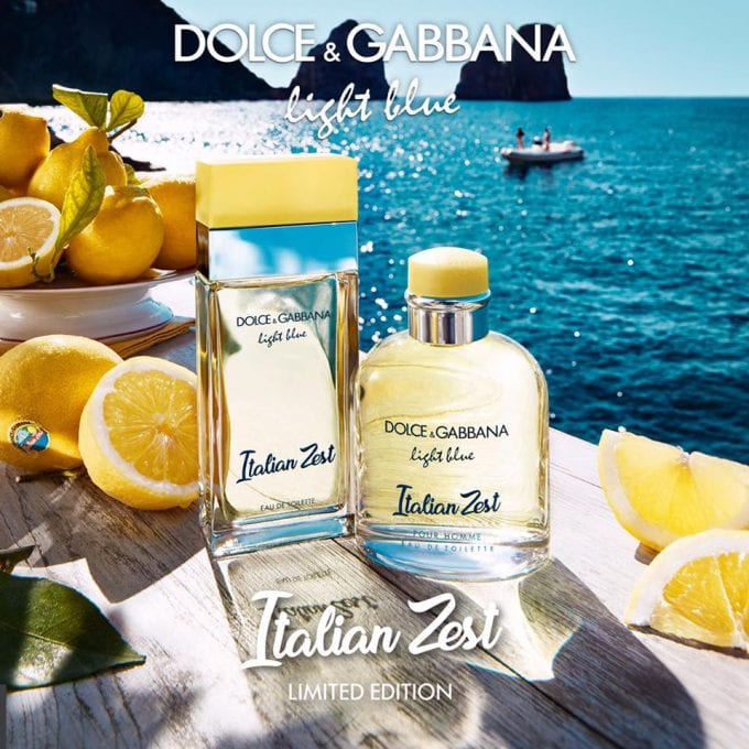 Dolce&Gabbana adds Italian Zest to a new duo of summer limited edition fragrances