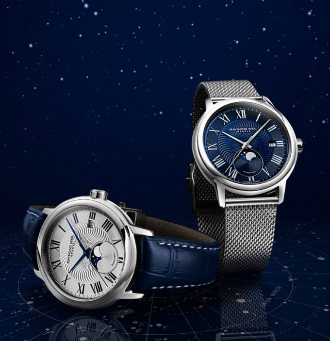 Raymond Weil celebrates the Stellar World with new Moon Phase watch
