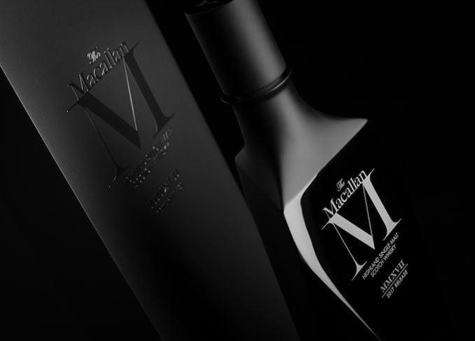 Macallan releases M Black 2017 in (very) limited edition black crystal decanter