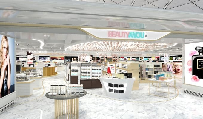 The Shilla Duty Free preps for grand opening of its beauty stores at Hong Kong International Airport