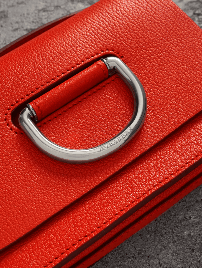 Worth Flying For… Burberry's new D-ring bag