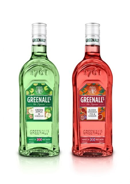 Greenall's launches two new Gin liqueurs with World Duty Free exclusive