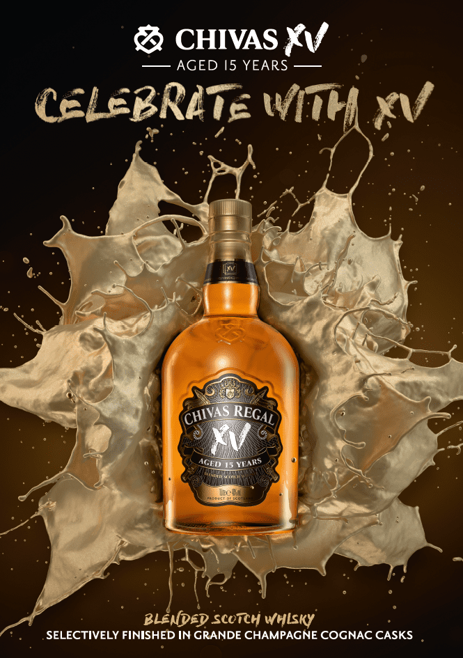 Chivas Regal launches XV – duty-free exclusive, contemporary Scotch debuts at airports