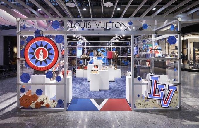 Heathrow opens Louis Vuitton pop-up for summer flyers