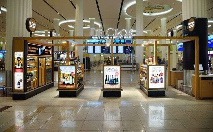 Le Clos welcomes arriving travellers at Dubai International T3