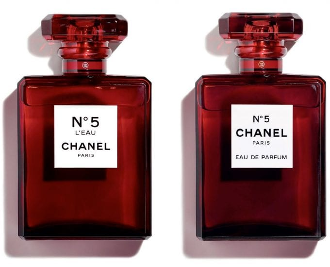 Chanel's iconic N°5 turns red for limited edition launch