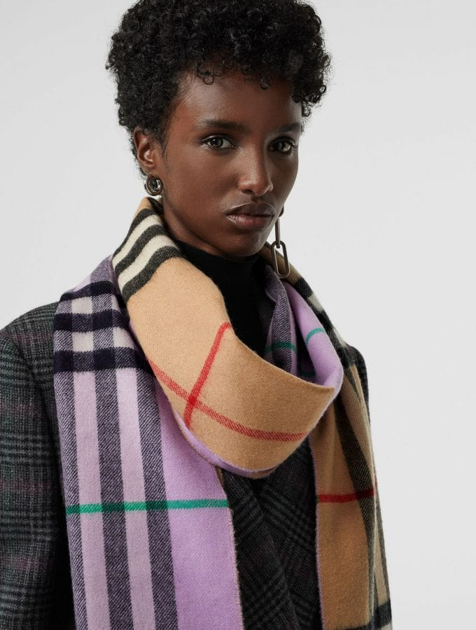 Worth Flying For… the Burberry Check Double-faced Cashmere Scarf