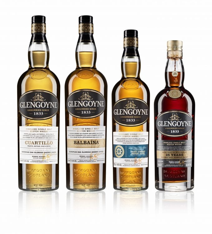 Glengoyne unveils duty-free exclusive Spirit of Oak Collection at World Duty Free
