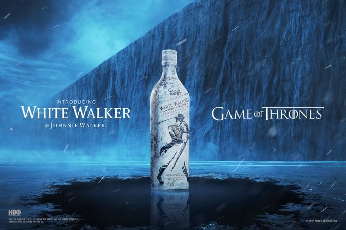 Game of Thrones 'White Walker' released in airports by Johnnie Walker