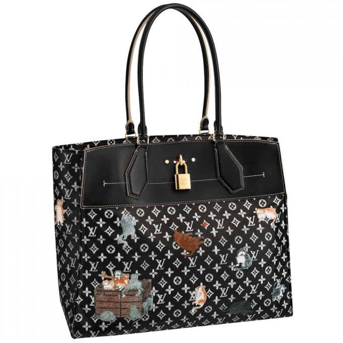 Louis Vuitton lets Grace Coddington's cats (collection) out