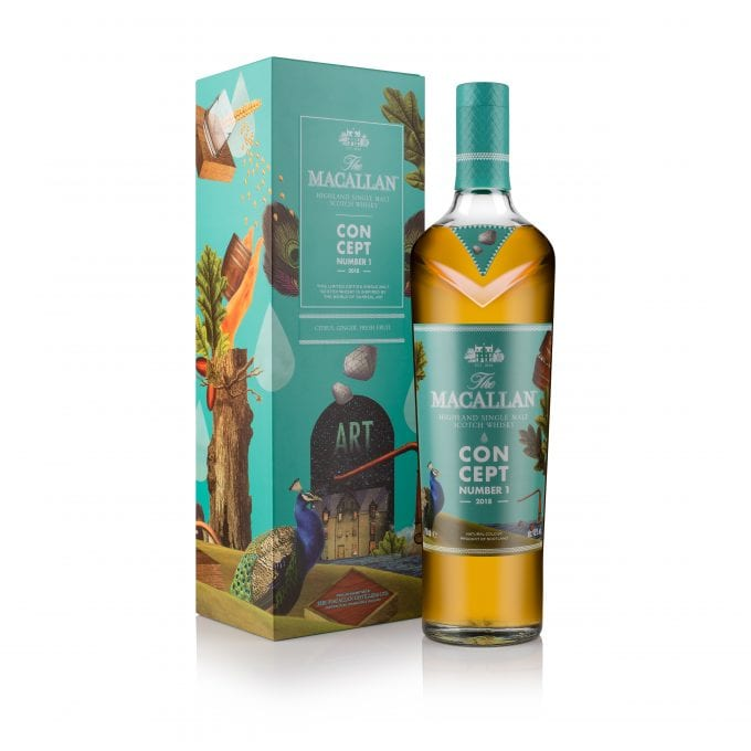 The Macallan reveals surreal Concept No. 1 – exclusive to duty-free