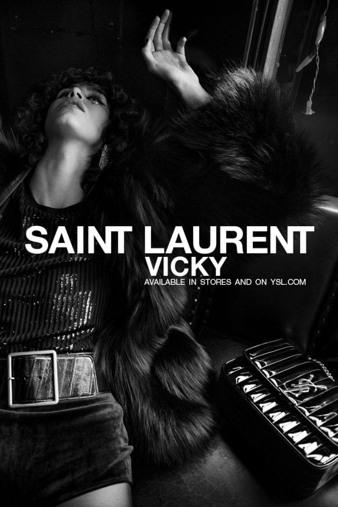 Worth Flying For… the YSL Vicky bag