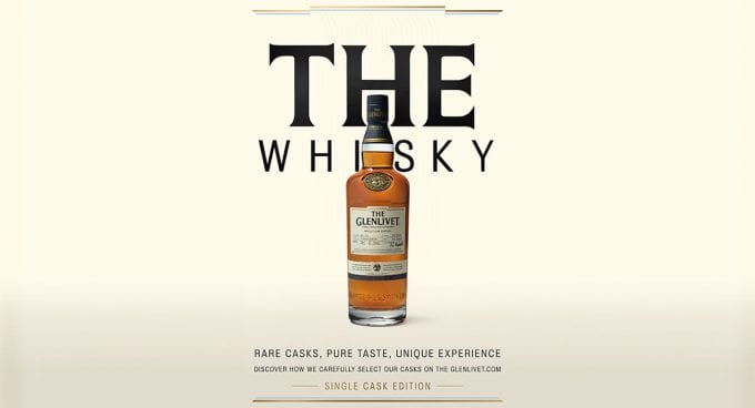 The Glenlivet launches ten extremely rare Single Cask malts – exclusive to just four airports