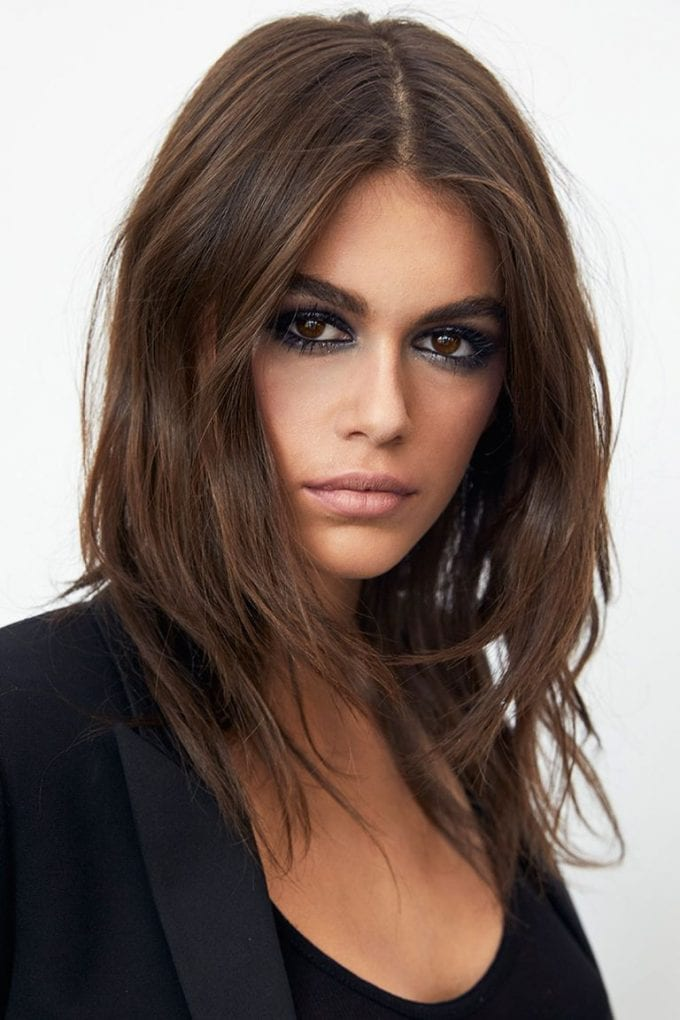 Kaia Gerber is the new face of YSL Beauté