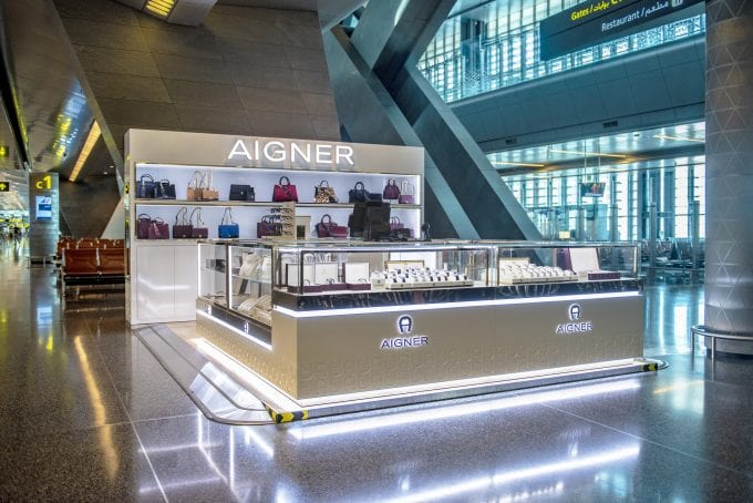 Qatar Duty Free reveals the first AIGNER luxury pop-up at Doha HIA airport