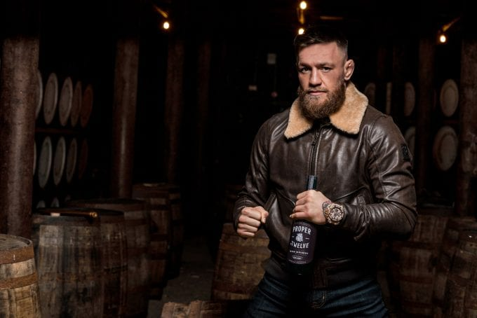 Sorry! says Conor McGregor as his Proper No. Twelve whiskey runs out