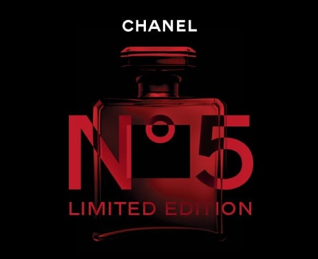 CHANEL N°5 dresses in RED as it debuts limited edition at Singapore Changi airport