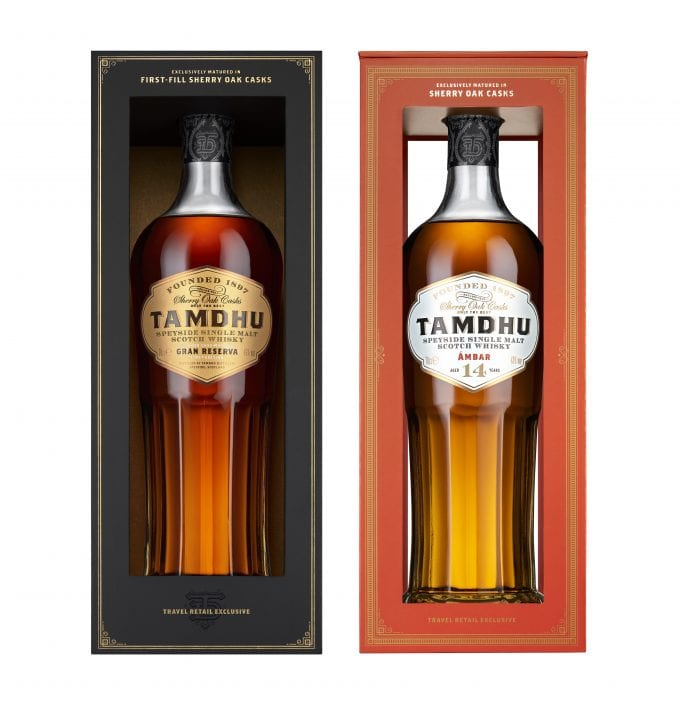 Tamdhu Malt Whisky debuts in duty-free with two exclusives for Dufry shoppers