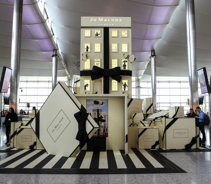 Jo Malone London opens The Travelling Townhouse at London Heathrow