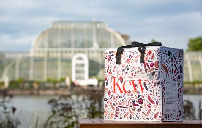 London's Heathrow Airport and Kew Gardens launch shopping bag for global travellers