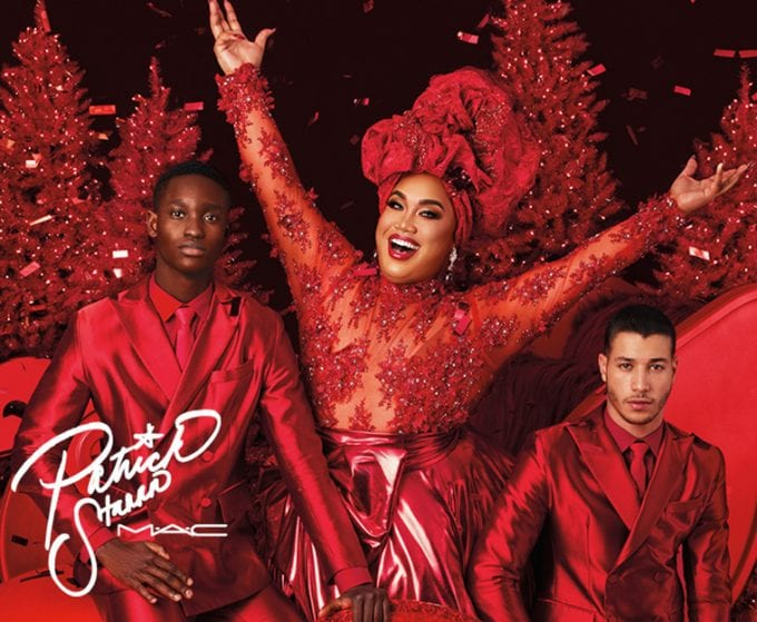 MAC x Patrick Starrr unveils Sleigh Ride Collection for the festive season