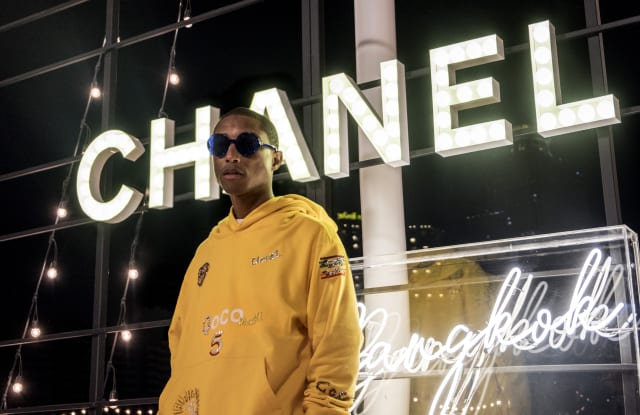 Pharrell Williams x Chanel capsule collection set for Seoul launch in Spring 19