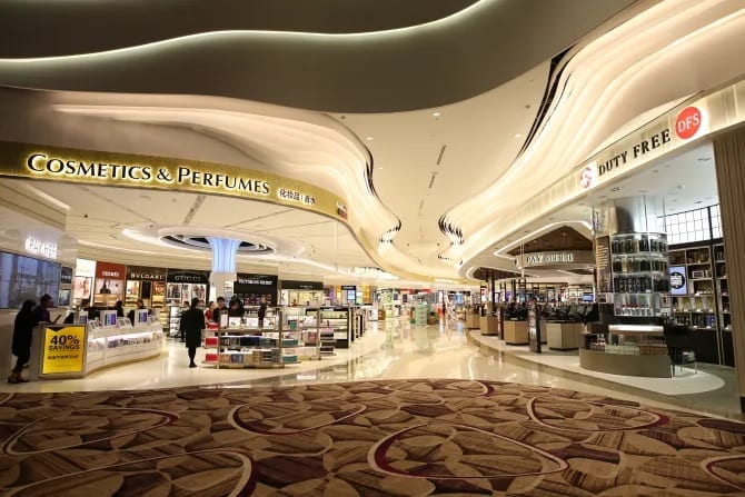 Changi Airport keeps DFS and Shilla Duty Free in place to wow travellers