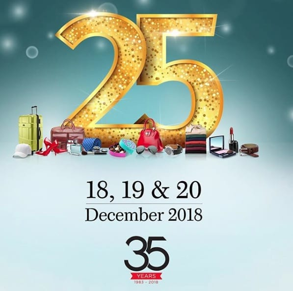Worth Flying For… Dubai Duty Free's 35th Anniversary Sale is coming