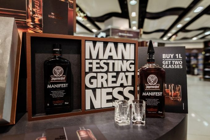 Manifesting Greatness! Jägermeister's super-premium edition, Manifest, launches in 29 European airports