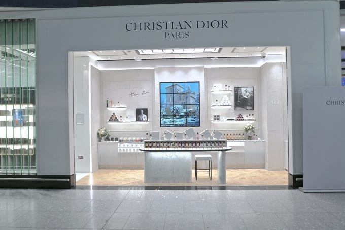 Heathrow welcomes Europe's first Maison Christian Dior fragrance boutique