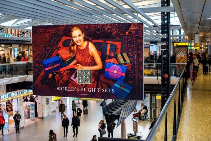 Rituals takes over Amsterdam Schiphol to deliver the ultimate festive gifting experience for travellers