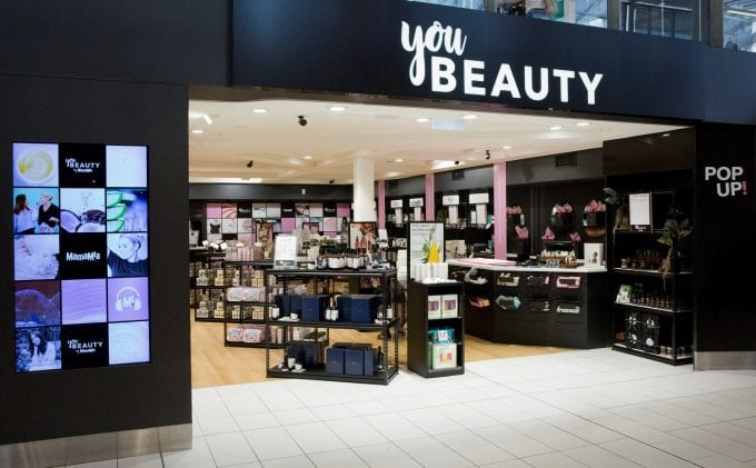 You Beauty! Sydney Airport wows travellers with beauty pop-up by Leigh Campbell