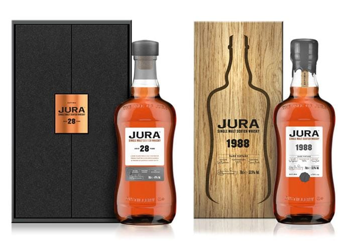 Jura launches a prestige range of Old and Rare Single Malts for duty-free shoppers