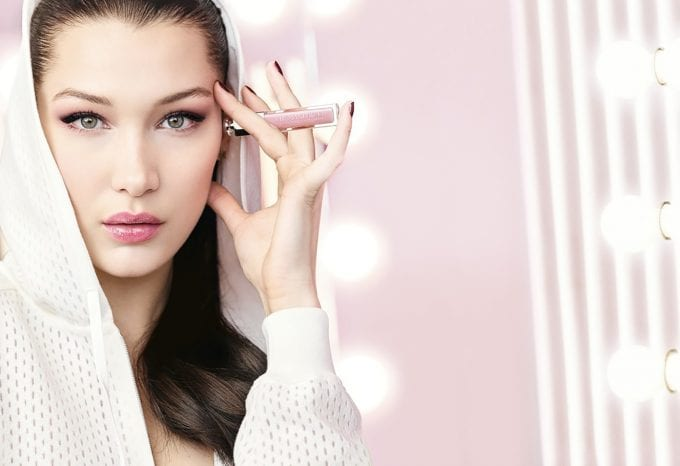Dior unveils new formula Lip Maximizer with Bella Hadid