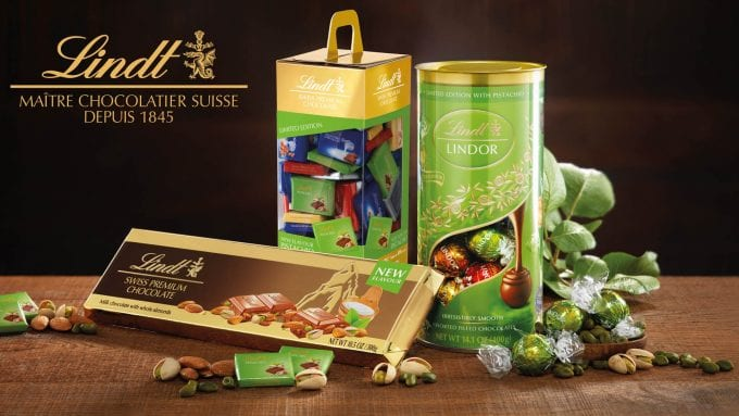 LINDT unveils airport exclusive Pistachio Edition chocolates for DUFRY shoppers