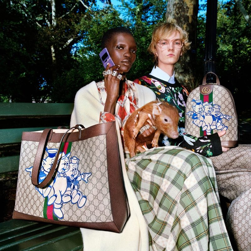 Gucci casts Disney's Three Little Pigs as stars of its CNY Collection